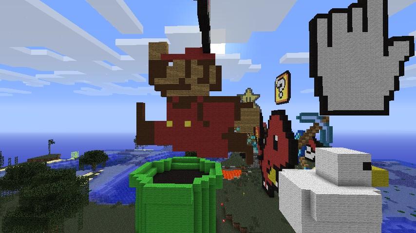 Pipe Mario Minecraft Project