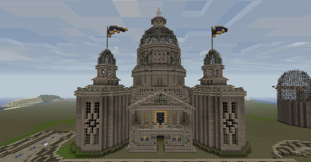Cathedral City Hall Minecraft Project