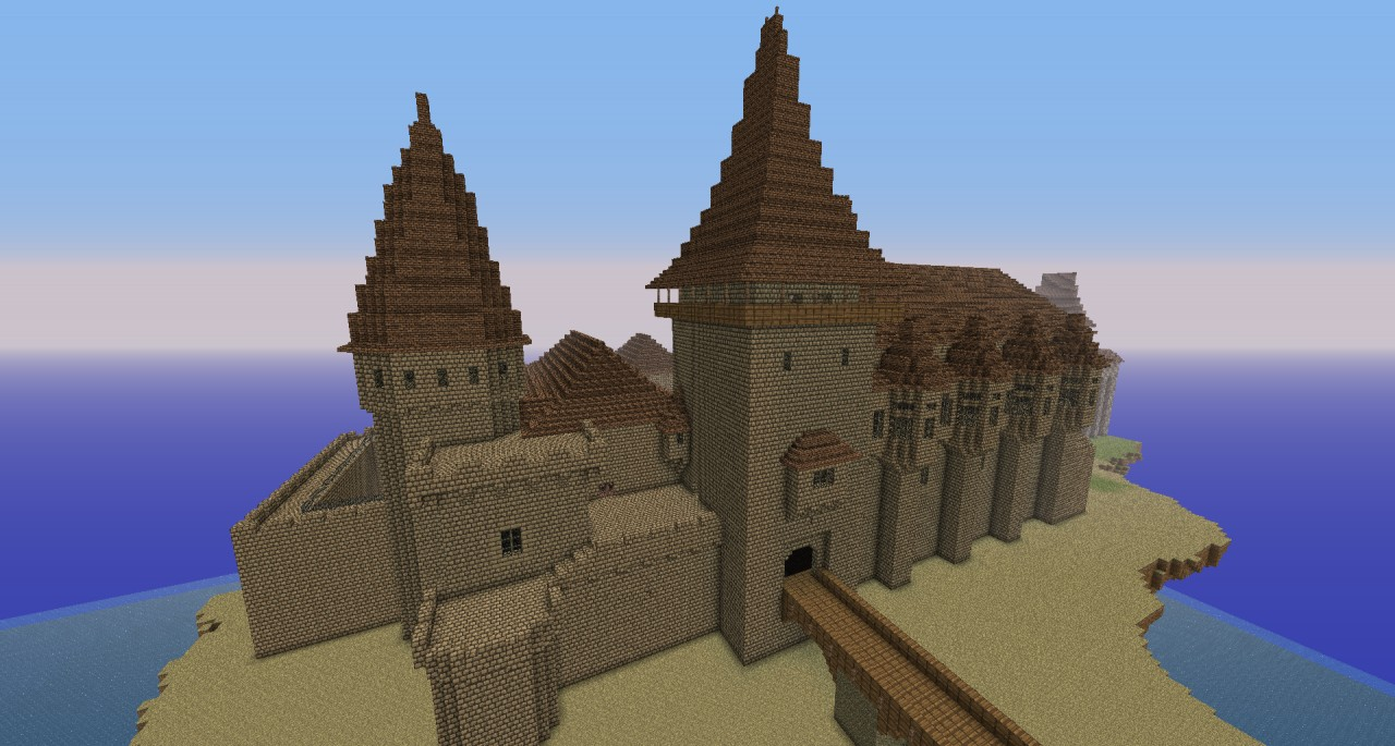 Hunyad Castle (Hunedoara) Minecraft Project