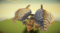 Battle Airship - Butterfly [Final] Minecraft Map & Project