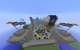 Land of Endorr  SKYLANDS PVP FREEBUILD CASTLES CITYS FUN FACTIONS Minecraft Server