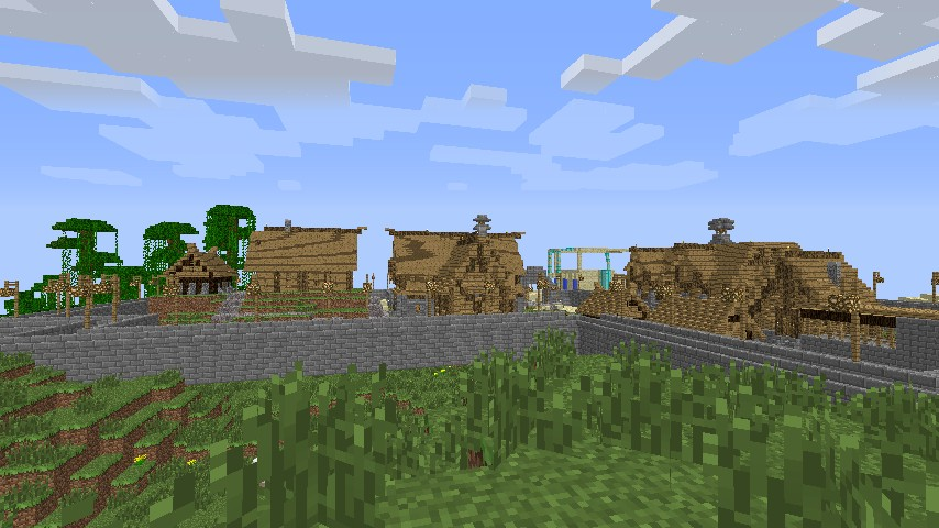 Nord city/large village! Minecraft Project