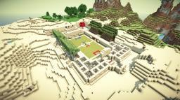 Sandstone Spleef Arena Minecraft Map & Project