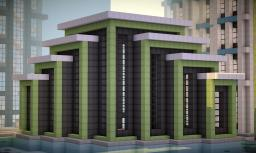 Modern Building on World of Keralis Minecraft Map & Project