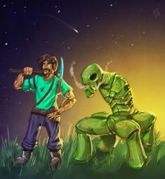 Tale of a creeper Minecraft Blog