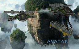 World of Avatar, combat ships, Na'vi Minecraft Map & Project
