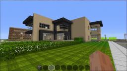 Fair Fields Modern House With Huge Farm Minecraft Project