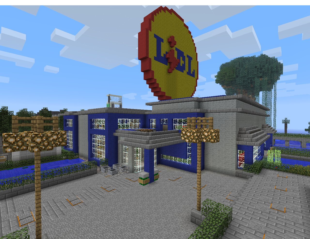 Shop lidl minecraft project for Craft com online shopping