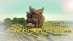 Medieval house by DJpaulii || + DOWNLOAD! Minecraft Map & Project