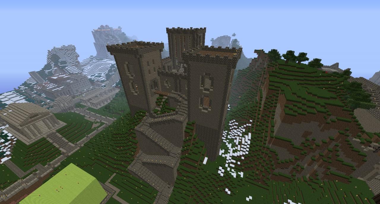 Mountain Castle Minecraft Project