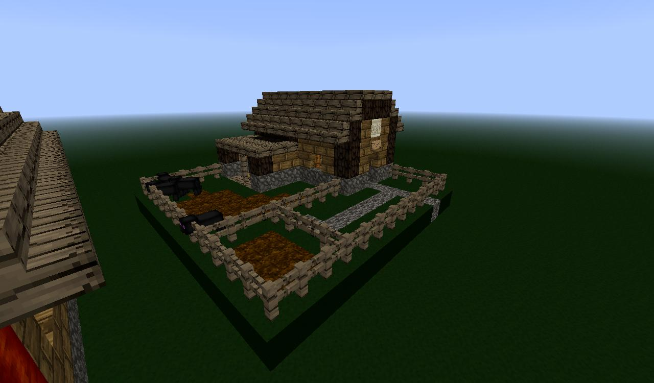Ender village preveiw releas farms minecraft project