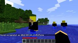 Me mod your not alone!!! [1.7.3] Minecraft Mod