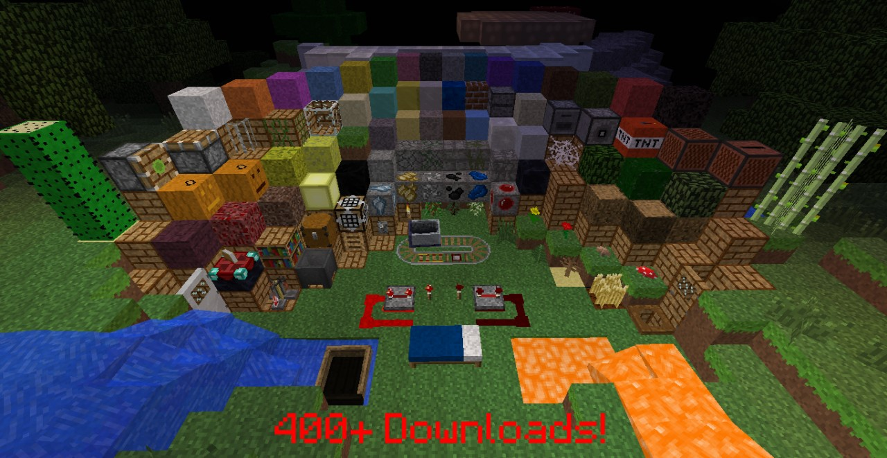 Simplistic Craft Perfect Survival TexturePack (1000 DL's?) Minecraft Texture Pack