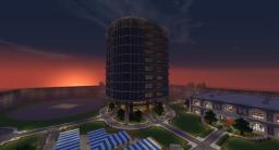 Spawn Building (Tower) (For Server Rules ETC) Minecraft