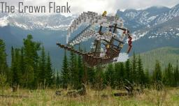 The Crown Flank (Air Ship) Minecraft Map & Project