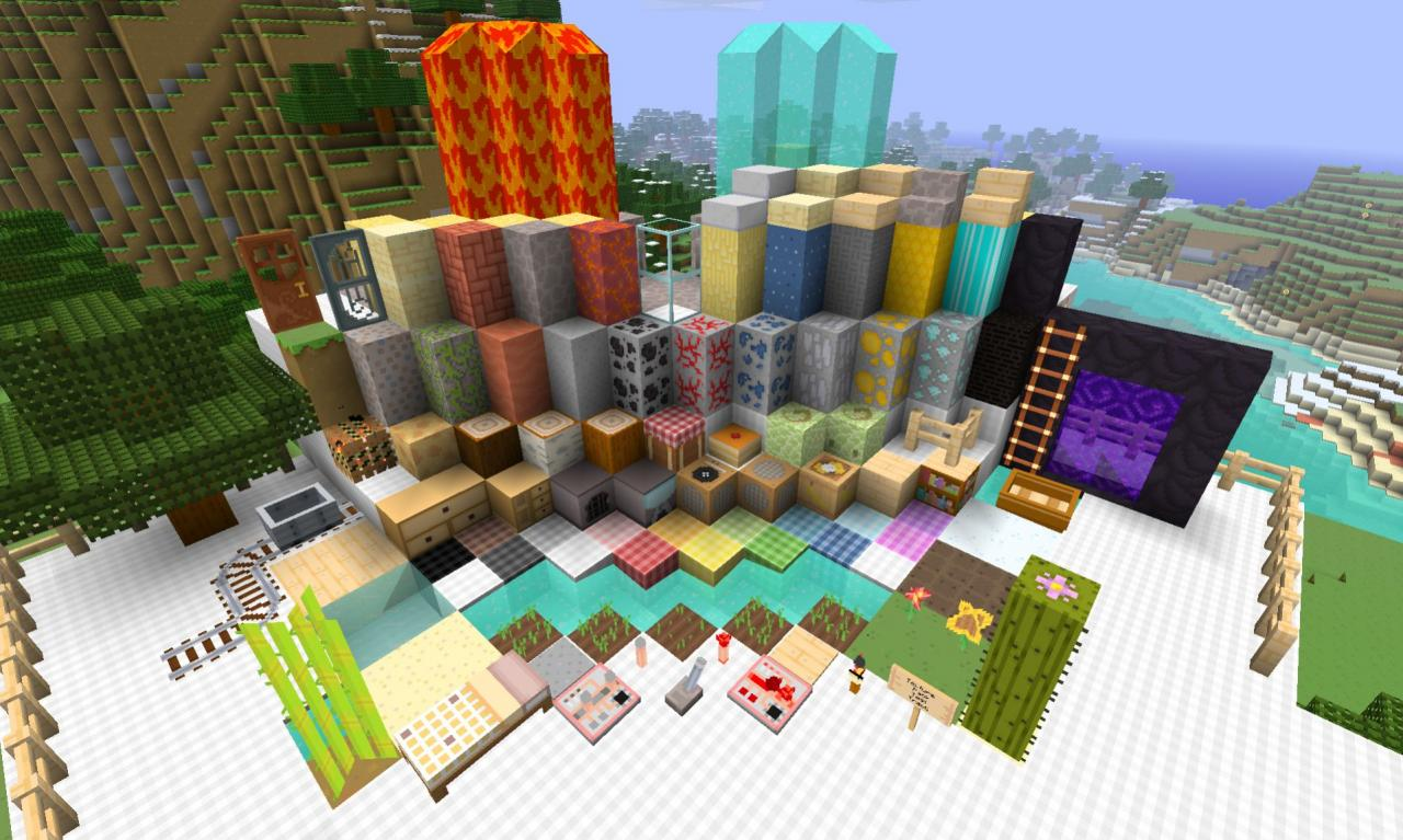 Cutie Craft Paintings Texture Pack