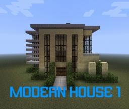 Modern House Series - Modern House 1 Minecraft Project