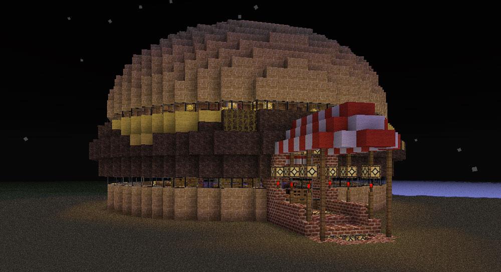 Burger Pub Minecraft Project