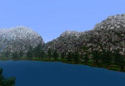 Nordic Mountain Terraforming Minecraft Project