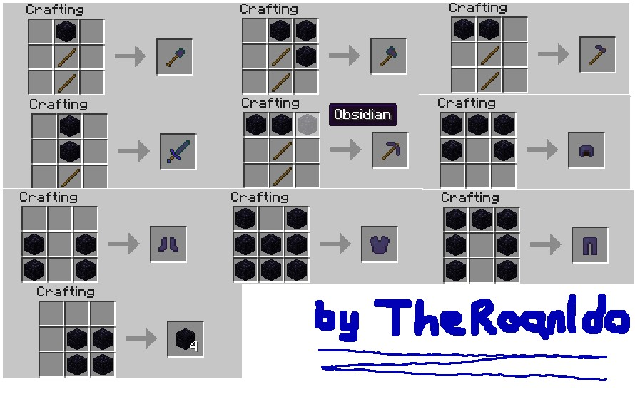 Minecraft Armor Crafting Guide