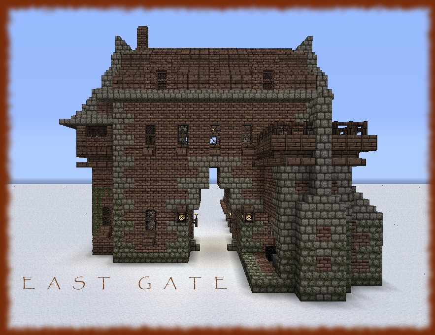 the medieval east gate - photo #7