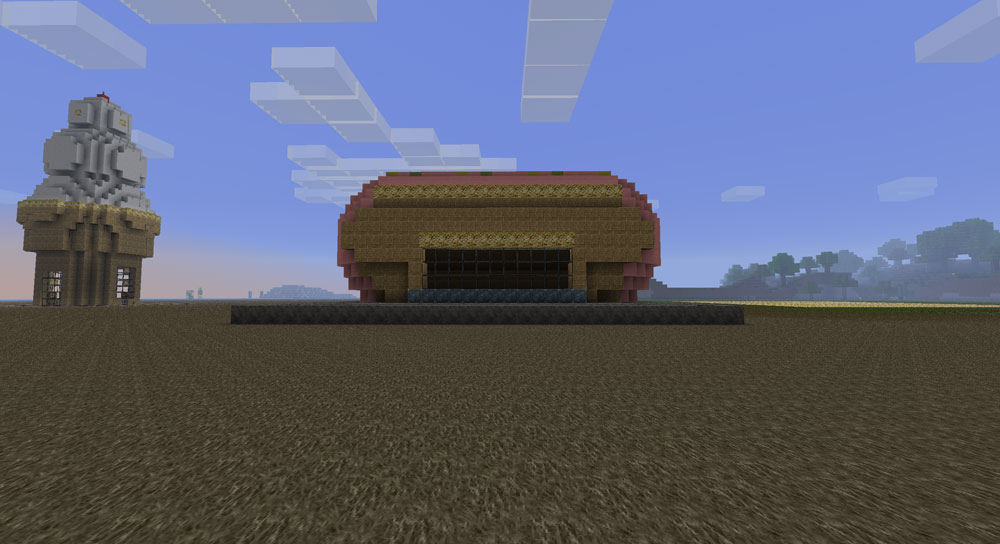 Hot Dog Stand Minecraft Project