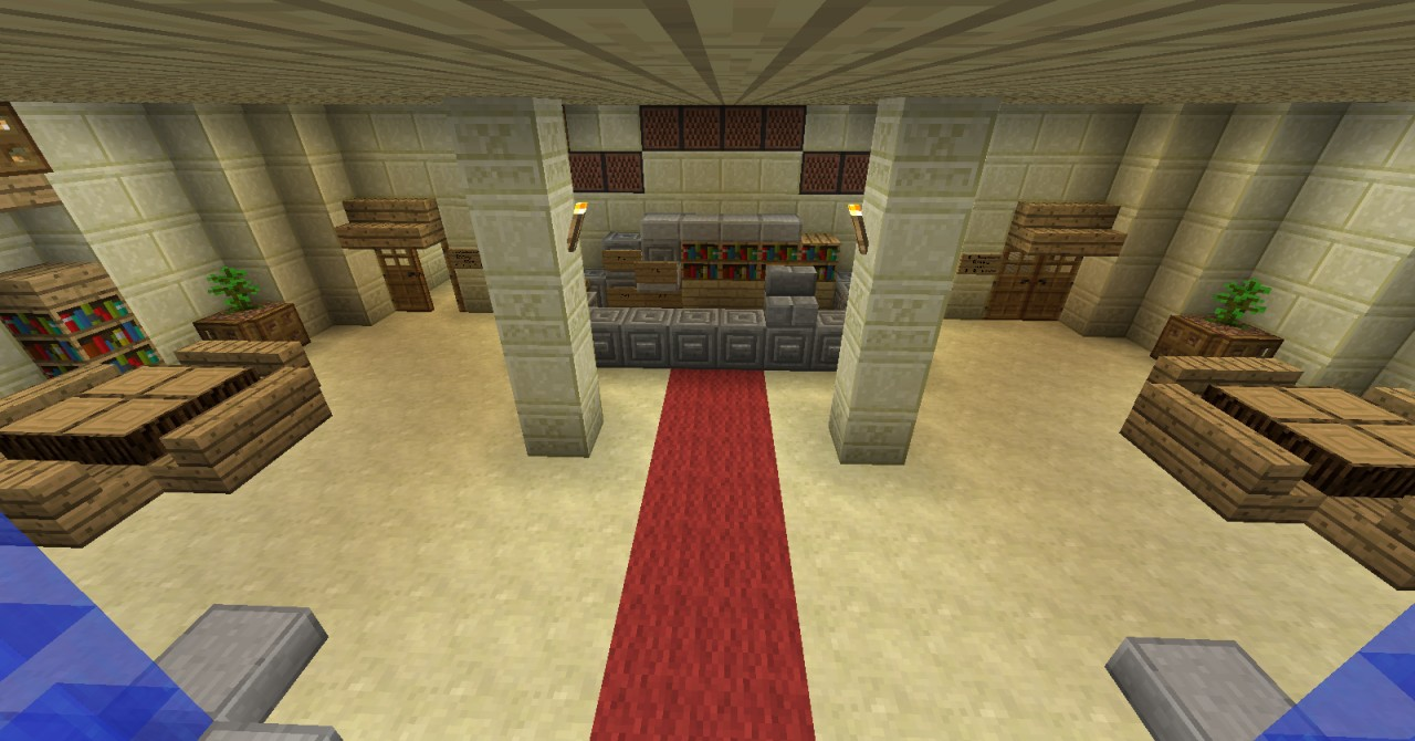 Sun And Sea Beach Hotel Minecraft Project