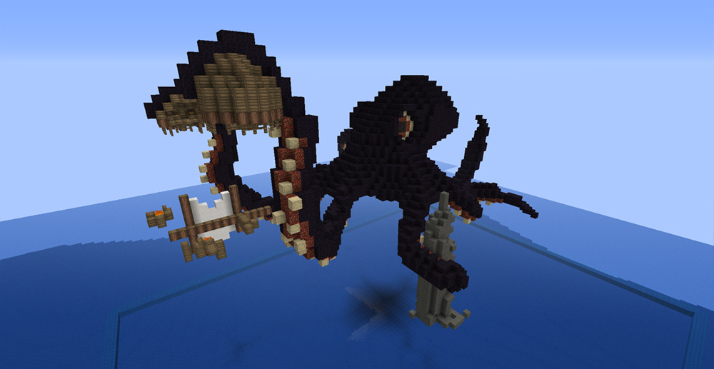Creatures The Kraken Minecraft Project