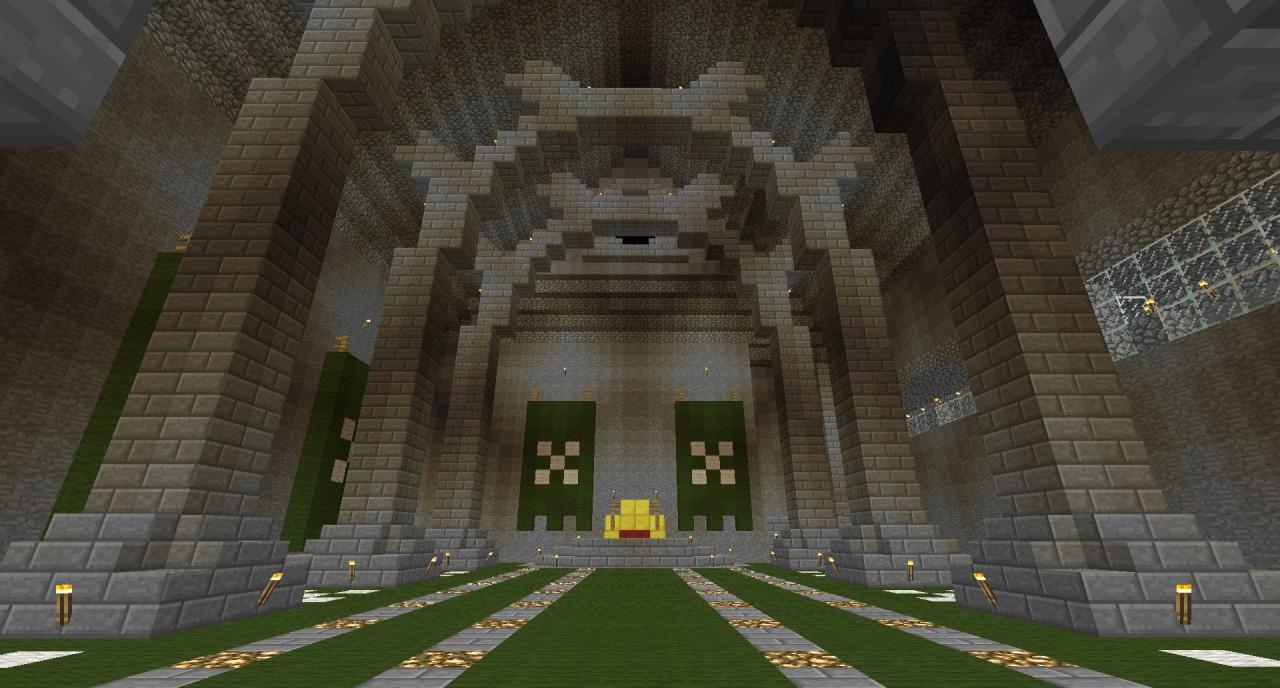 Huge Castle X Timelapse Minecraft Project