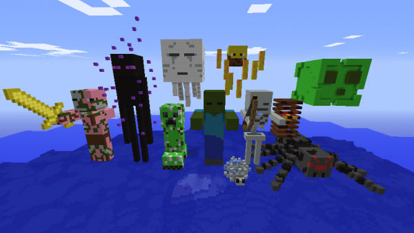 Which Minecraft Mob are you? QUIZ!!!