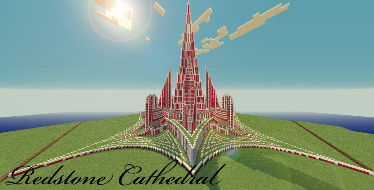 Redstone Cathedral Minecraft Project