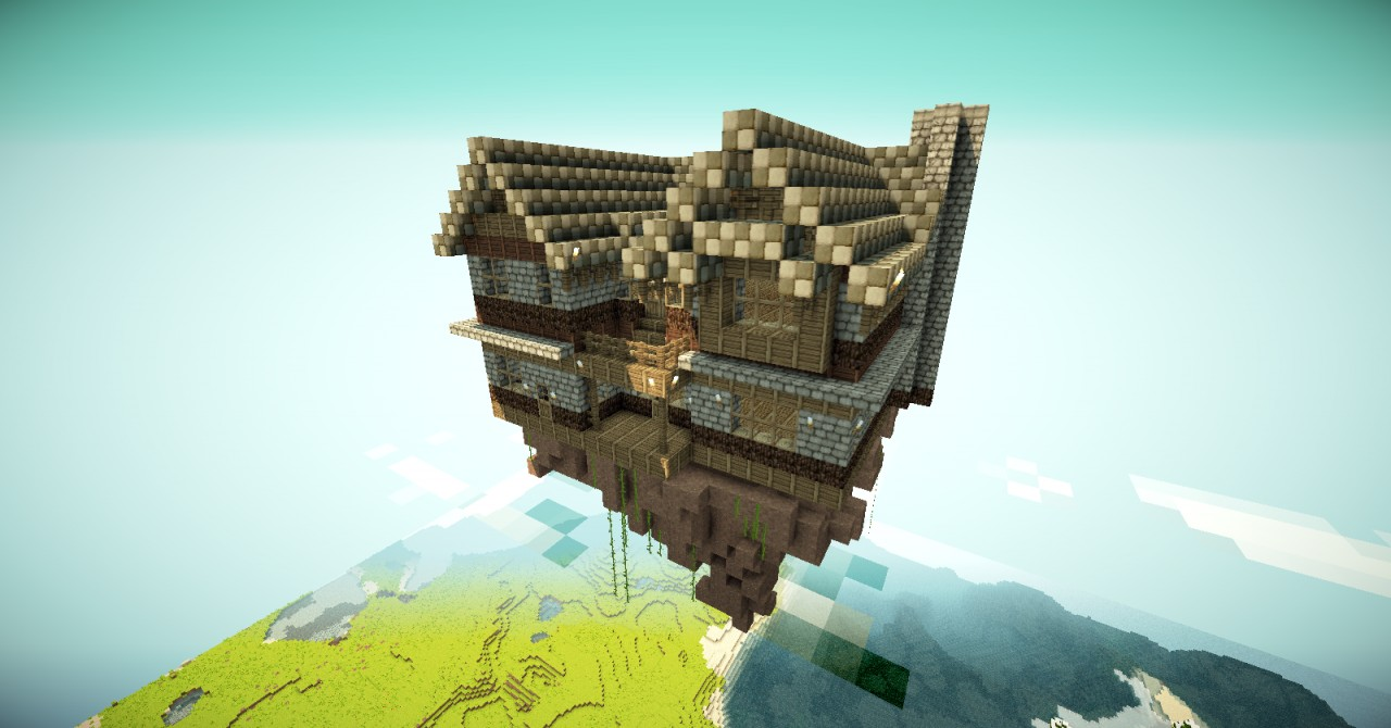 The flying house project