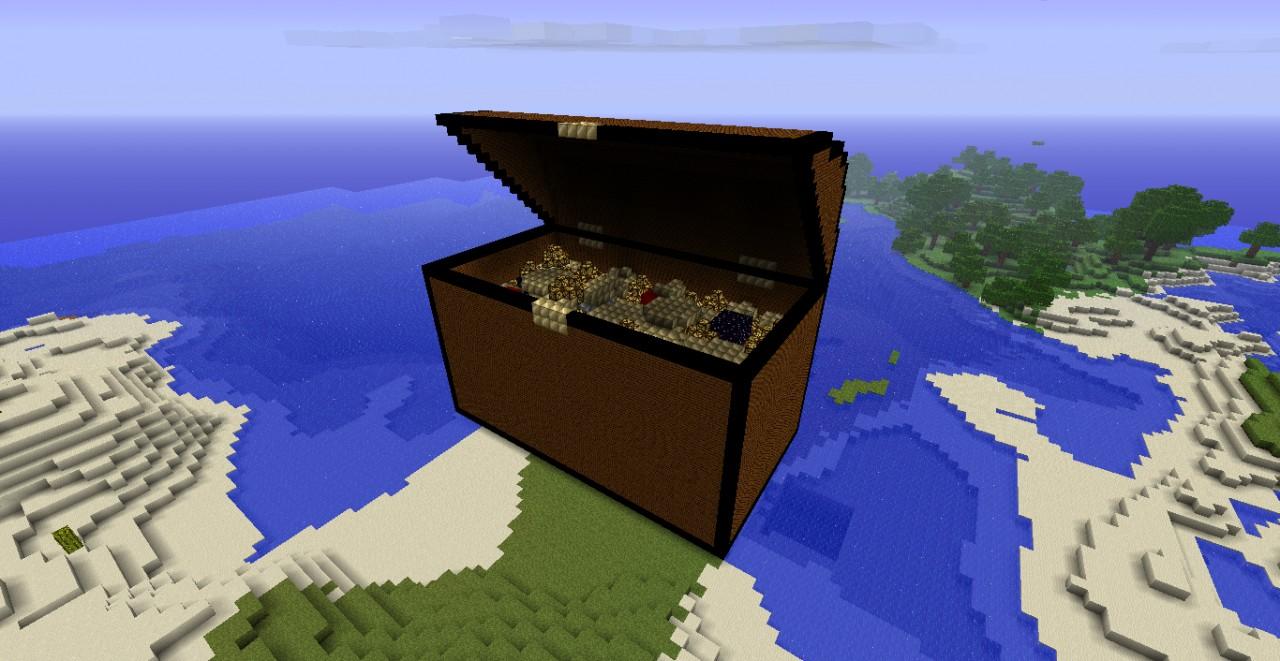 treasure chest minecraft project