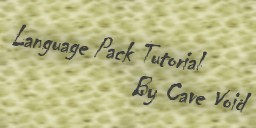 Language Pack Tutorial Minecraft Blog Post