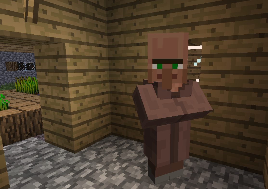 Minecraft Real Life Villager About the npc villagers