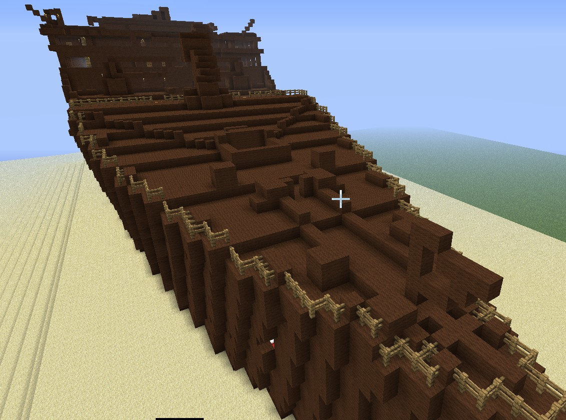 Titanic The Wreck Minecraft Project