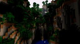 The dark jungle valley survival Minecraft Map & Project
