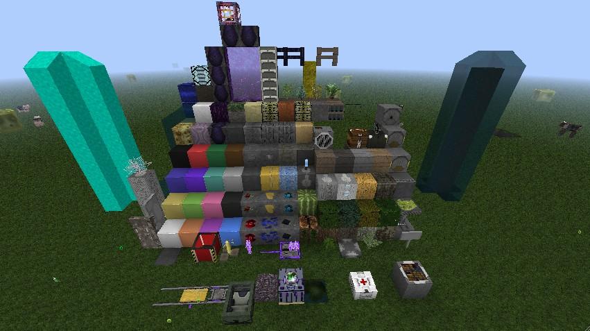 The blocks