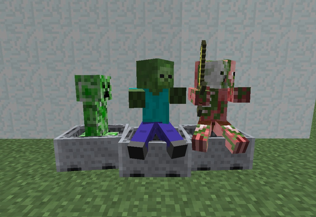 how to make custom mobs in minecraft pe