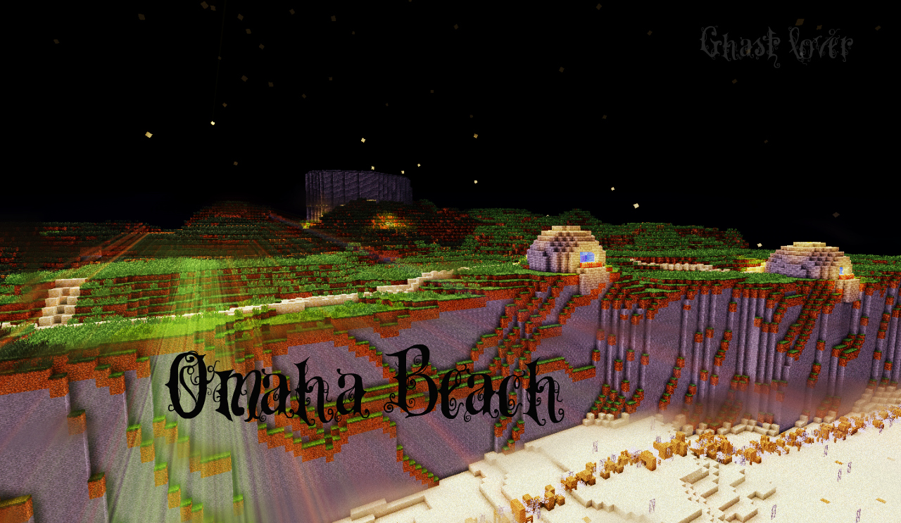 Omaha Beach Minecraft