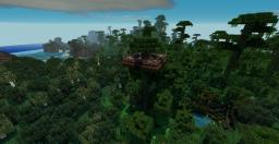 Jungle Home Minecraft Map & Project
