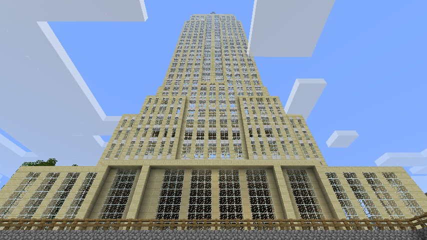 Empire State Building 1 2 Scale Minecraft Project