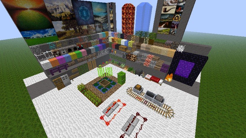 Pre- Release of Minetest Minecraft Texture Pack