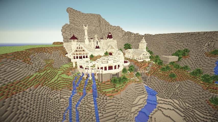 Lord of The Rings: Fellowship of the ring adventuremap ... Minecraft Lord Of The Rings Castle