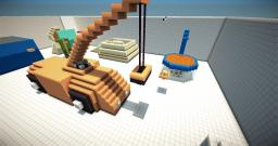 MINECRAFT TRICKSHOT MAP! MW2 MW2 MW2! Minecraft Map & Project