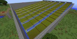 Auto Wheat Farm 3000 Minecraft Project