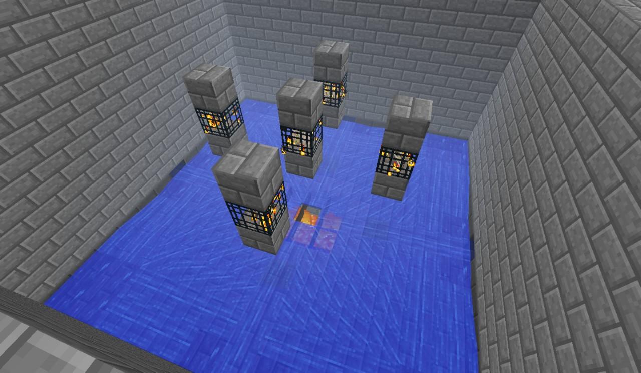 how to make an iron golem spawn farm in minecraft