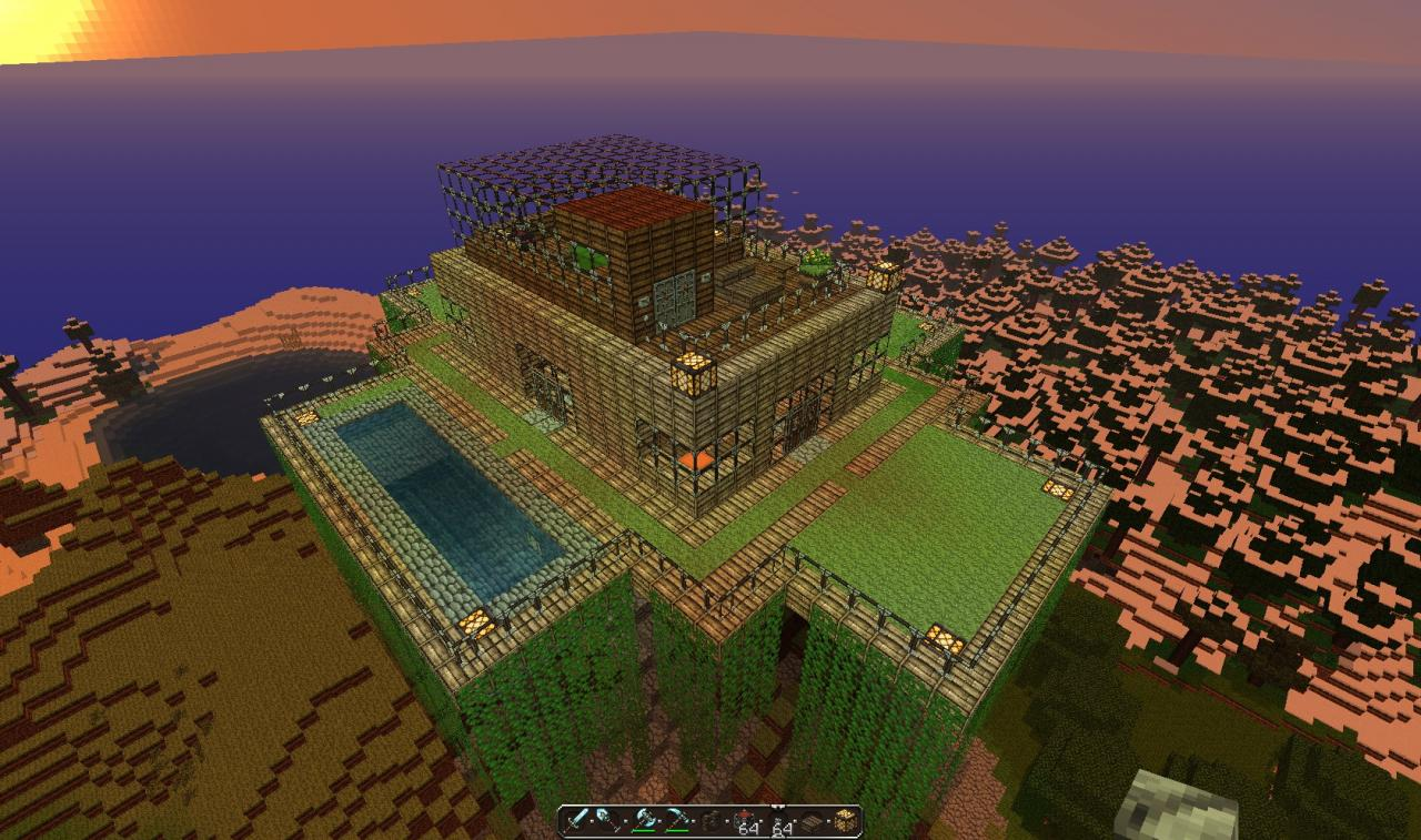 The house on the hill wip minecraft project - House on the hill 2012 ...