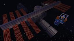ISS - International Space Station V4.5 - In SPAACCEEE Minecraft Map & Project