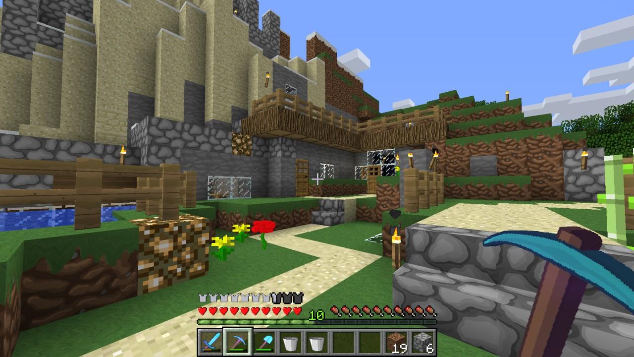 Скачать красивые текстуры для minecraft 1.8.9 как у диллерона